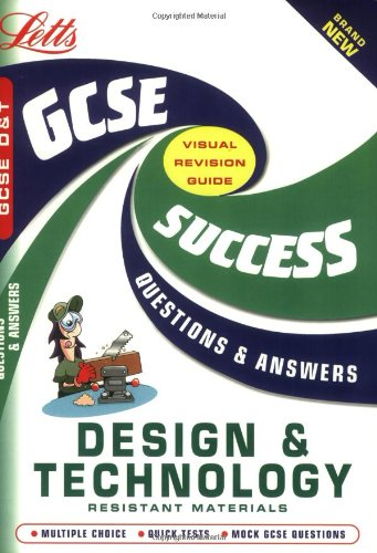 Gcse D.And T.: Resistant Materials (Gcse Success Guides Questions & Answers) front-23744