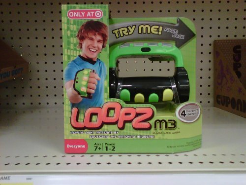 Loopz M3 Handheld Music Memory Game - Exclusive Green Edition - 1