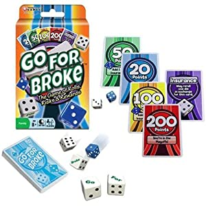 Winning Moves Family Go for Broke Card Game