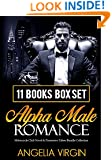 ROMANCE: 11 ALPHA MEN STORIES BOX SET (Suspense Thriller, Love, Billionaires, Stepbrothers & Control): Motorcycle Club Novel & Possessive Taboo Bundle Collection (Claiming her Trust 2 3 4 Series)