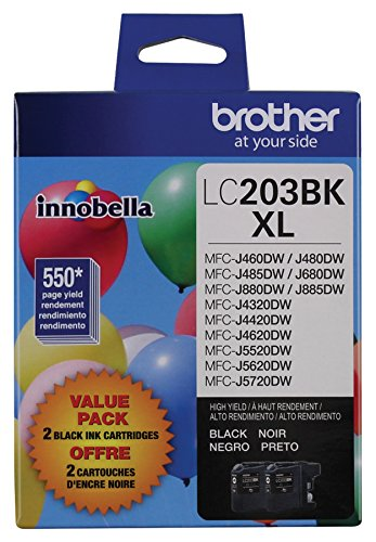 Brother Ink Refills, Black (LC2032PKS)