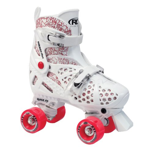 Best Deals! Roller Derby Girl's Trac Star Adjustable Roller Skate