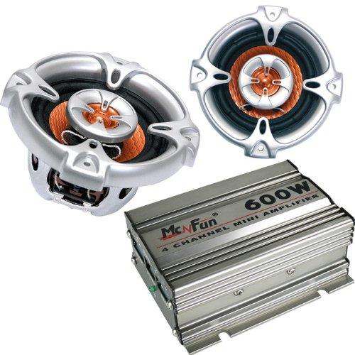 600W Auto Musikanlage Endstufe Mini Kompakt Verstärker