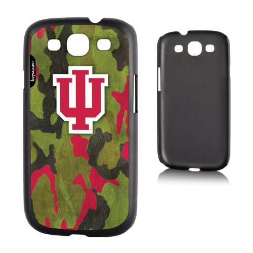Indiana Hoosiers Galaxy S3 Slim Case Camo Ncaa