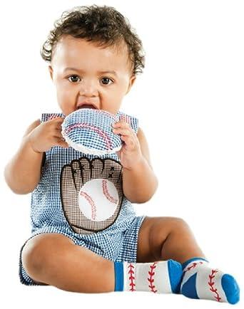 Mudpie Baseball Shortall (12-18 Months)