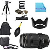 Deluxe Shooters Package For Canon EOS 6D Camera : Includes 1x Canon EF 70-300mm F/4-5. 6 IS USM Lens For Canon...