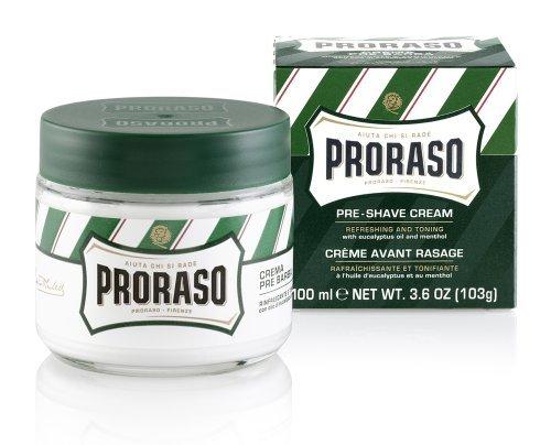 PRORASO Crème à raser pour avant le rasage - Pré-rasage 300ml