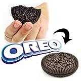 Oreo Cookie Bitten & Restored Funny Magic Trick (Brown)