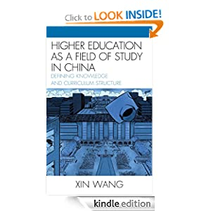 as a Field of Study in China: Defining Knowledge and Curriculum