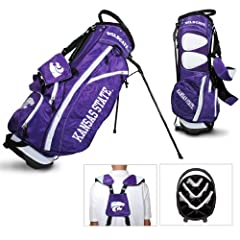 Brand New Kansas State University Wildcats Fairway Stand Bag by Things for You
