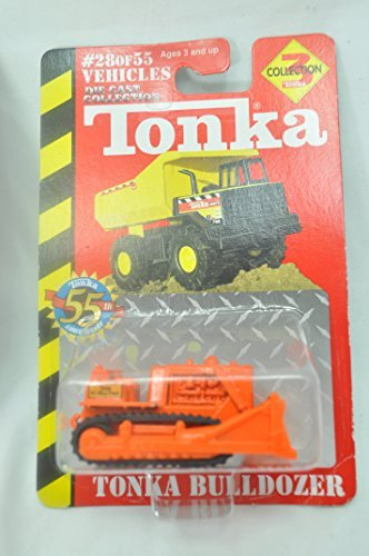 2000 Tonka #51 Mighty Bulldozer 1:64 Die-Cast