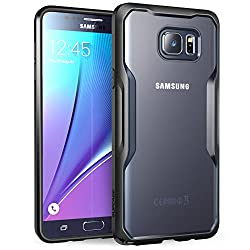 Samsung Galaxy Note 5 Case, SUPCASE Unicorn Beetle Series Premium Hybrid Protective Bumper Case for Galaxy Note 5 (2015 Release) (Frost/Black)