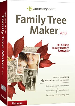 Family Tree Maker 2010 Platinum [OLD VERSION]