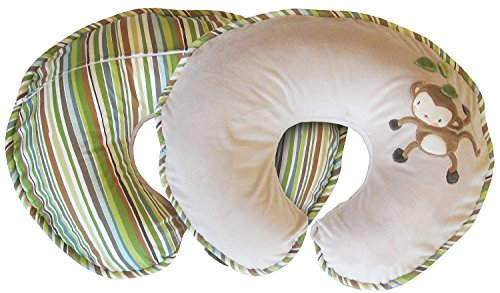 Boppy Luxe Pillow Monkey Around