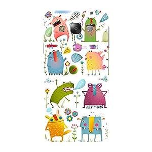 Garmor Designer Plastic Back Cover For Samsung Galaxy E5 SM-E500