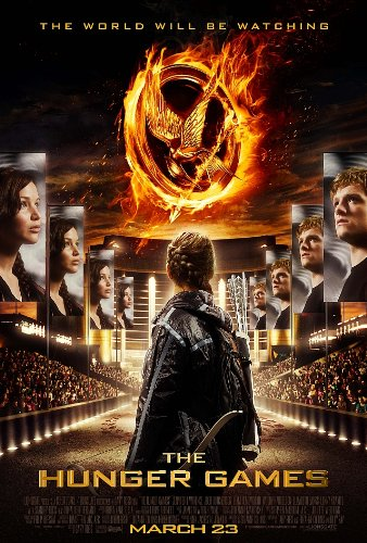 (24x36) The Hunger Games Stadium Movie Poster