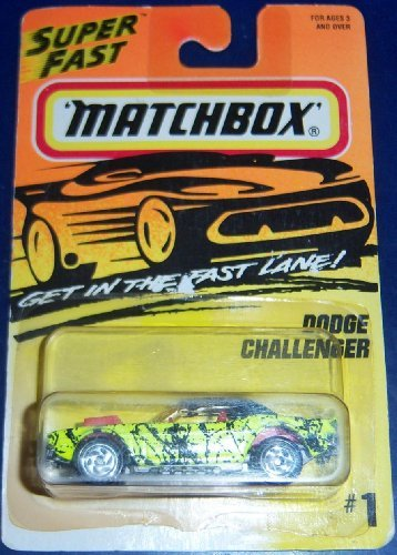 Matchbox #1 Dodge Challenger