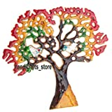 Rana Overseas Metal Wall Hanging Tree In 9 X 8 Inches