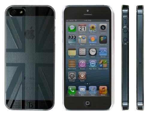 Highend berry 【 iPhone 5 】 アイフォン クリア ハード ケース ユニオンジャック