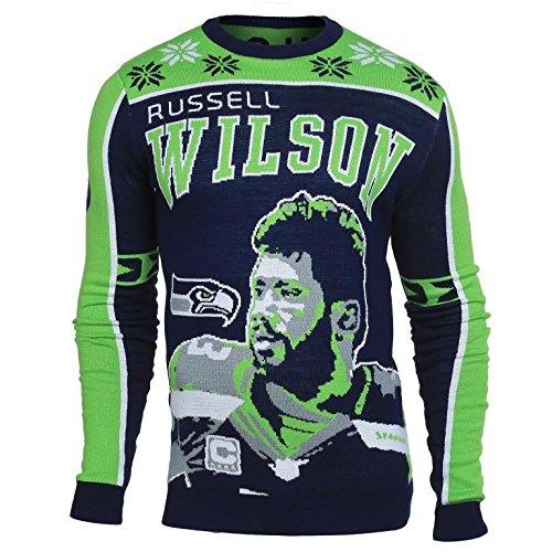 Unisex Dallas Cowboys Klew Navy Slogan Crew Knit Ugly Sweater