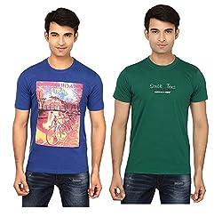 Strak Cotton Men's Casual T-Shirt (STR2059_XL)