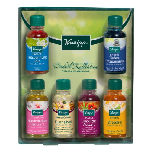 Kneipp Badeöl Kollektion, 6 x 20 ml