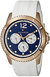 Tommy Hilfiger Women's 1781582 Analog Display Quartz White Watch