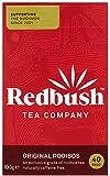 The Redbush Tea Company Original Redbush 40 Teabags (Pack of 6, Total 240 Teabags)