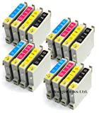 Epson Stylus Photo RX430 x12 Compatible Printer Ink Cartridges