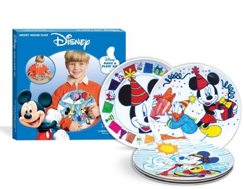 Mickey Make A Plate - 1