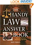 The Handy Law Answer Book (The Handy...