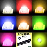 160 pcs SMD SMT 0805 Super bright LED Blue, Red, White ,Green, Orange ,Yellow, yellow-Green, Pink 20pcs each color