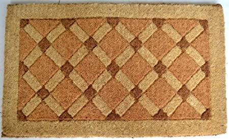 A Enhance The Entrance Of Your Home With This High Quality, Hand Tufted  Beveled Coir Doormat From Imports Decor. Handwoven From The Best Quality  Coir.