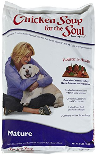 Diamond Pet Foods Chicken Soup For The Soul Mature Dry Dog Food, 30-Pound