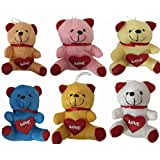 ATC TOYS-SMALL TEDDY SET OF 6