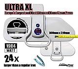 Dampfbügelpresse Ultra XL von Speedypress - Die Größte & Fortschrittschlichste Heimdampfbügelpresse in Europa  für Superschnelles Bügeln