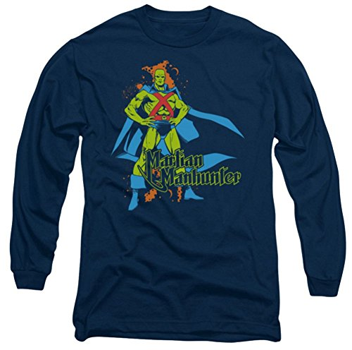 Martian Manhunter Logo Long Sleeve T-Shirt