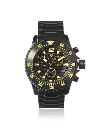 Swiss Legend Men's 10063-BB-11-YA Sergeant Black Stainless Steel Watch