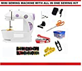 Ashlesha iStore 29 In 1 Pack Portable And Compact With Foot Pedal 4 In 1 Mini Electric Sewing Machine
