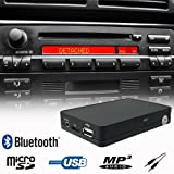 Bluetooth Handsfree A2DP USB SD AUX Music Player CD Changer Adapter Interface Car Kit for BMW E36 E38 E39 E46 Z3 Business CD / Cassette Radio