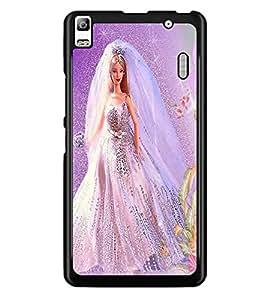 PrintDhaba Bride Barbie D-1115 Back Case Cover for LENOVO K3 NOTE (Multi-Coloured)