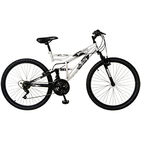 Pacific Tuscon Men's Dual-Suspension Mountain Bike (26-Inch Wheels)