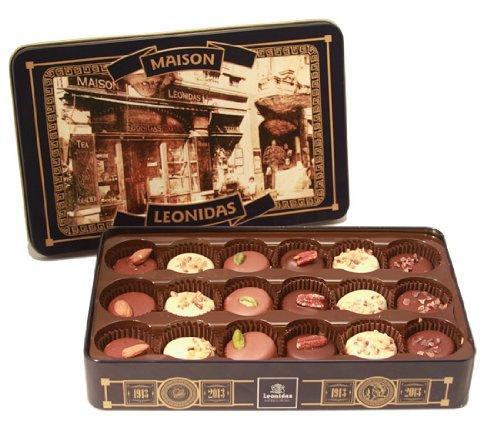 Leonidas Belgian Chocolates: 100 Year Anniversary Tin