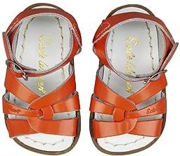 Saltwater by Hoy Unisex Baby The Original Sandal - Orange - 3