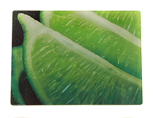 McAulay Arts Glass Cutting Board Limes 11.25