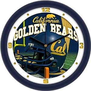 Cal Helmet Wall Clock by SunTime