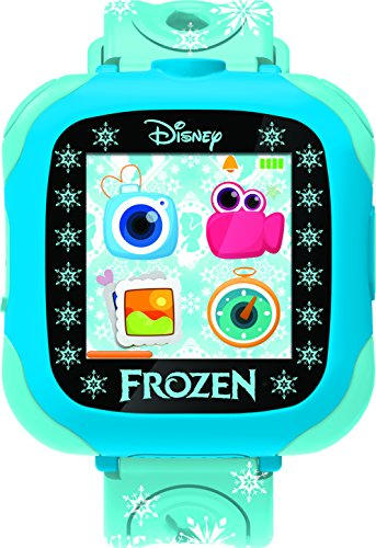 Frozen - Reloj-cámara, color azul (Lexibook DMW100FZ)