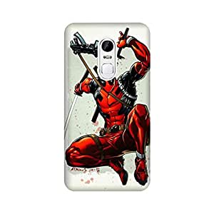 StyleO Lenovo Vibe X3 Designer Printed Case & Covers (Lenovo Vibe X3 Back Cover) - Superhero Deadpool