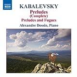 echange, troc  - Kabalevsky : Préludes (intégrale)