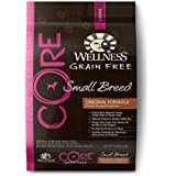 Wellness CORE Natural Grain Free Dry Dog Food, Small Breed Health Turkey & Chicken Recipe, 12-Pound Bag